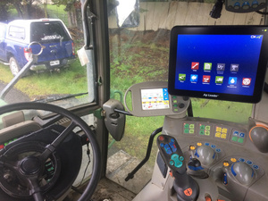 In-command 1200 with ontrac steering